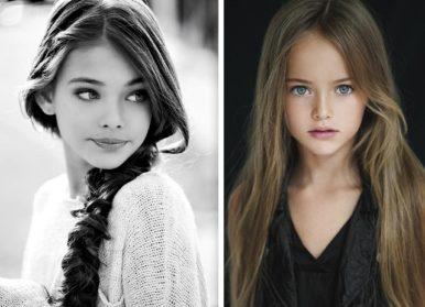 5 самых красивых девочек-моделей, которые покорили мир еще с пеленок