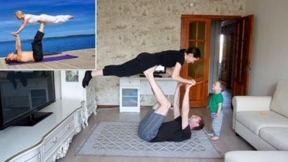 Занятие йогой - здоровье всей семьи
