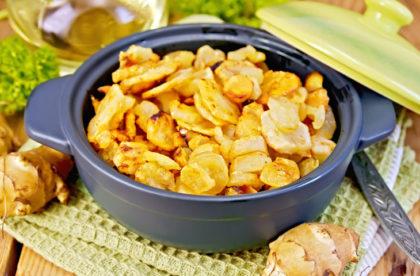 4 вкусных и полезных блюда с топинамбуром