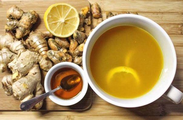 Имбирный чай: растворяет камни в почках, очищает печень и убивает раковые клетки. (Рецепт)