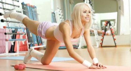 Сушка ног+упражнения для попы!