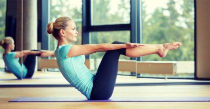 Красивый пресс за 30 минут — Йога для начинающих