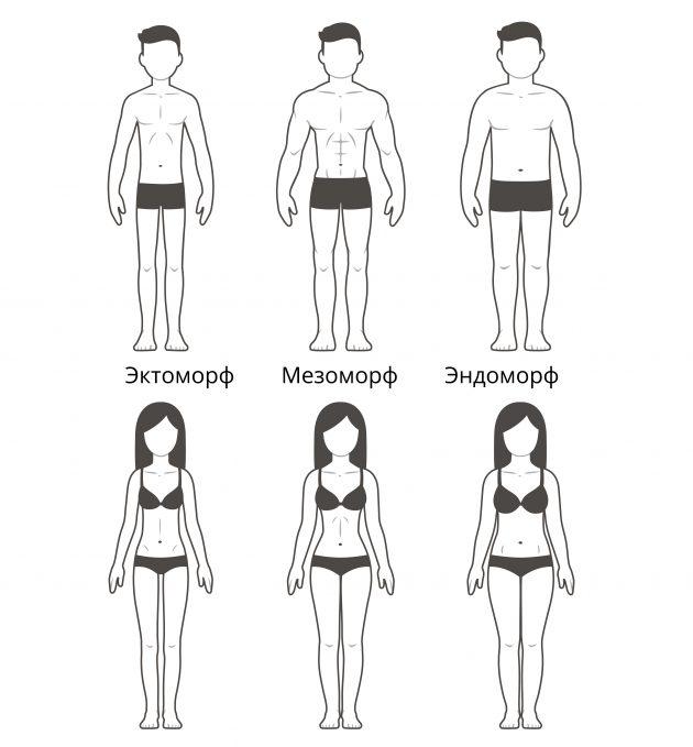Как поддерживать себя в форме: советы для людей с разным телосложением