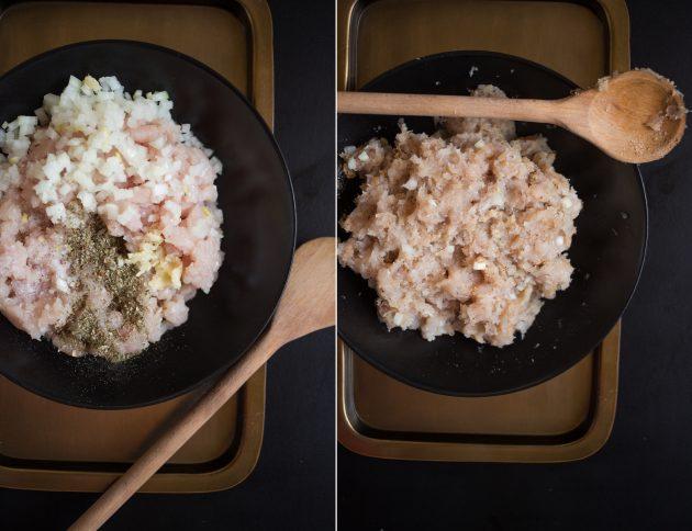 Куриные тефтели в йогуртовом соусе
