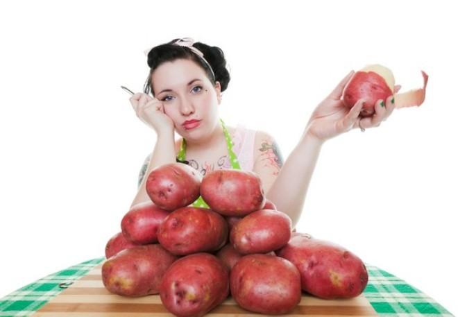 Как сладкий картофель может помочь предотвратить слепоту и похудеть