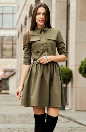 15 стильных платьев-рубашек и с чем их носить: территория моды…